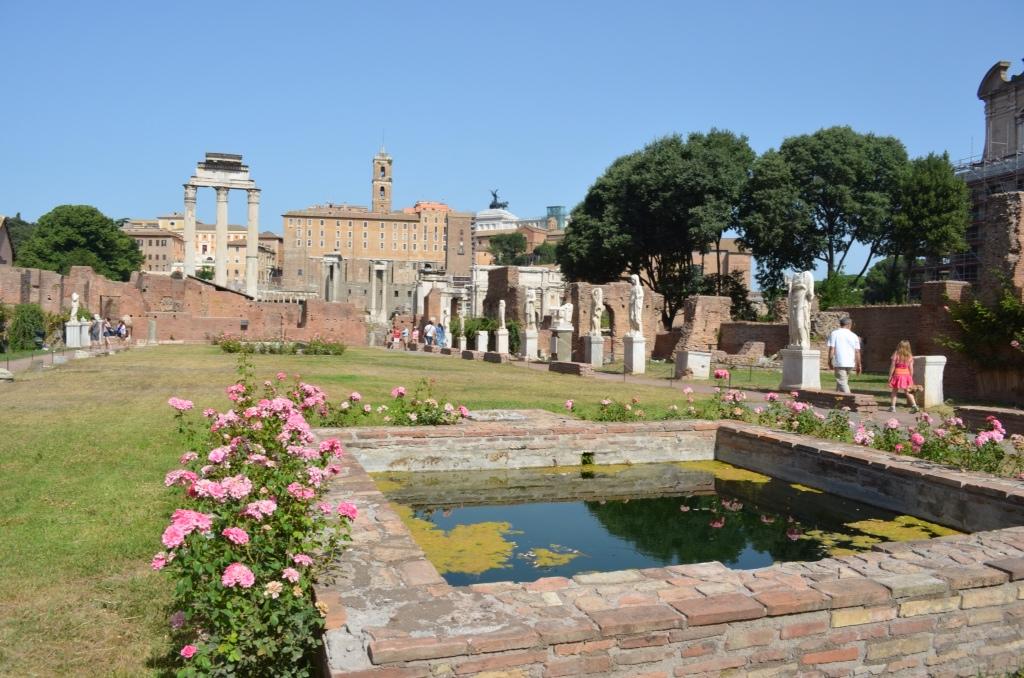 Roman Senate Building Forum Old Roman Senate Building